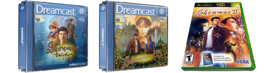 Shenmue 1 & 2 on Dreamcast
